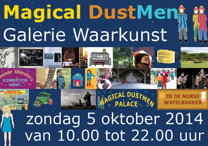aankondiging Magical DustMen in Warkunst