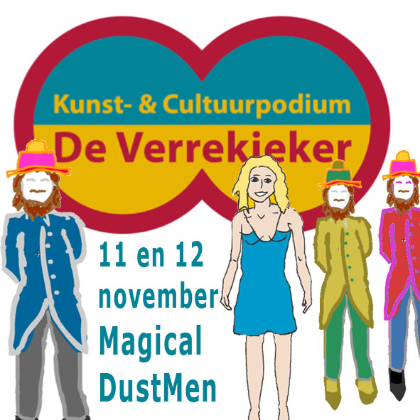 magical dustmen bij de verrekieker