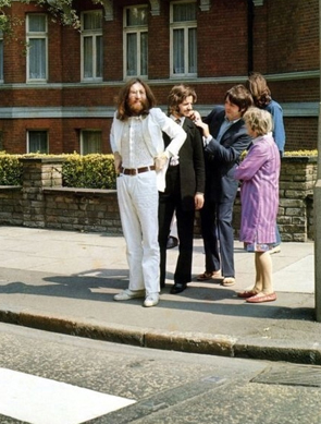 beatles on abbey road